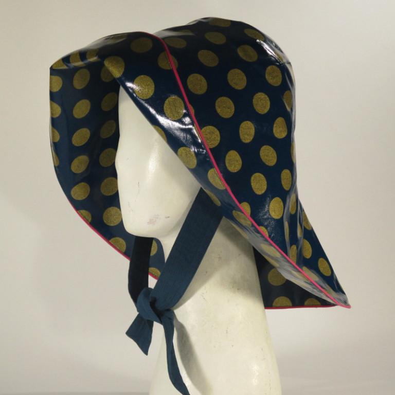 Kopfbedeckung - Regenhut - klassisch Südwester
