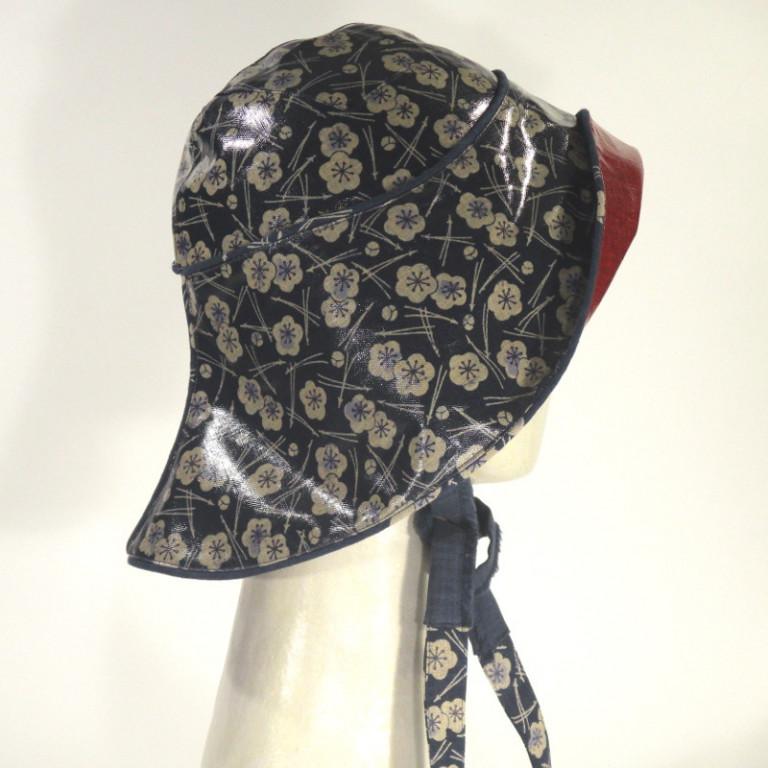 Kopfbedeckung - Regenhut - Uhmeu Matsu