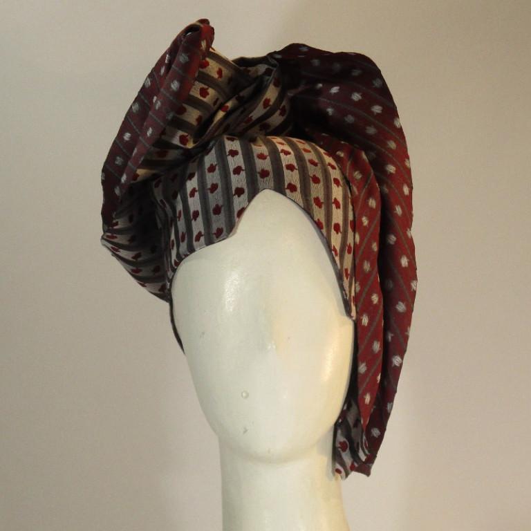 Kopfbedeckung - Eleganz doubleface