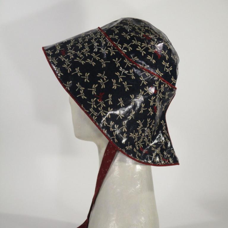 Kopfbedeckung - Regenhut - Libellen