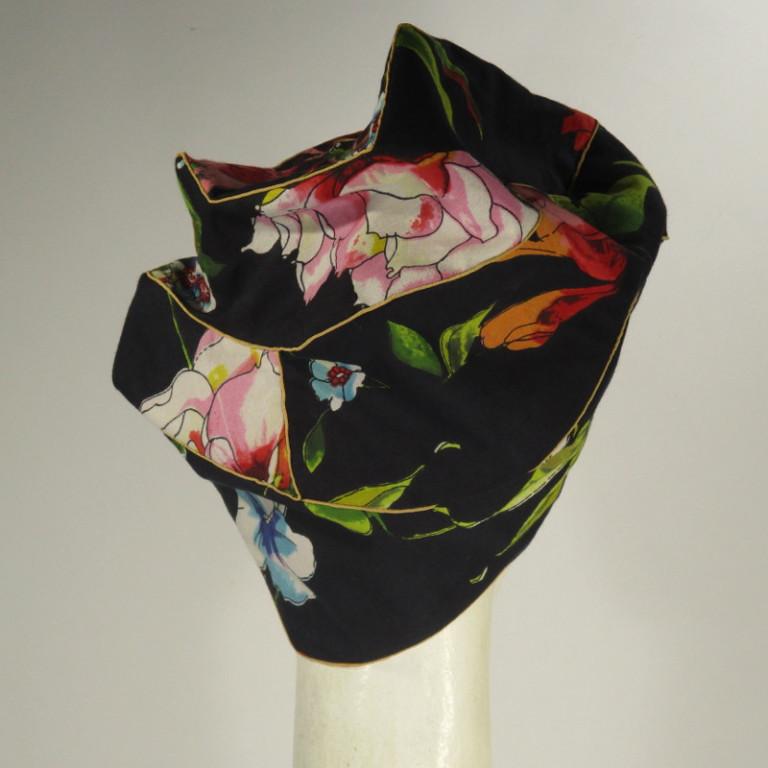 Kopfbedeckung - Sonnenkappe - schweizer Batist