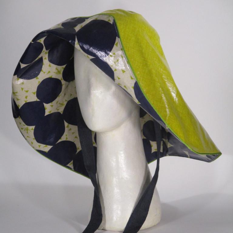 Kopfbedeckung - Regenhut - gelb