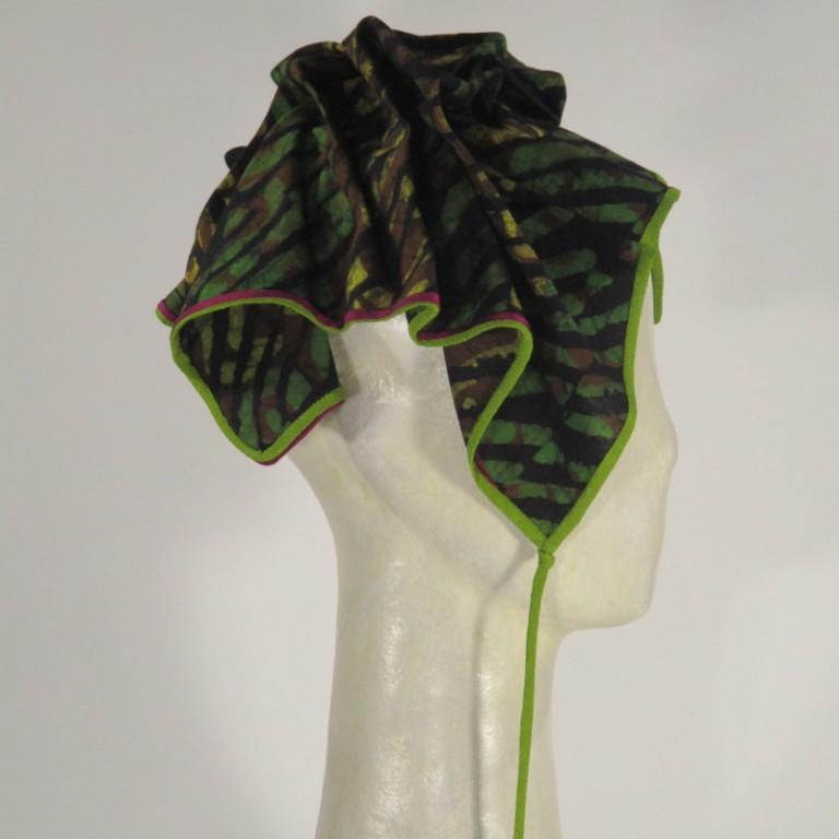 Kopfbedeckung - Chemotherapie - grün bunt