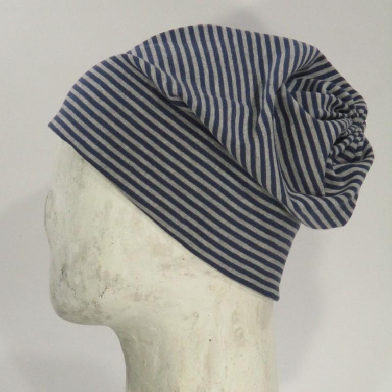Chemomütze - Herren Streifen - Baumwolle