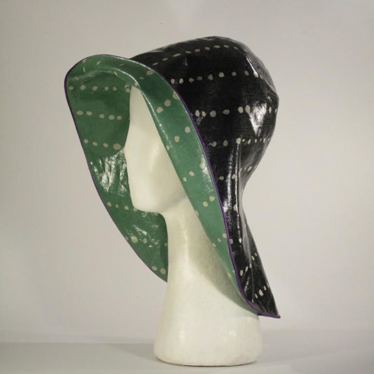 Kopfbedeckung - Regenhut Südwesterform klassisch
