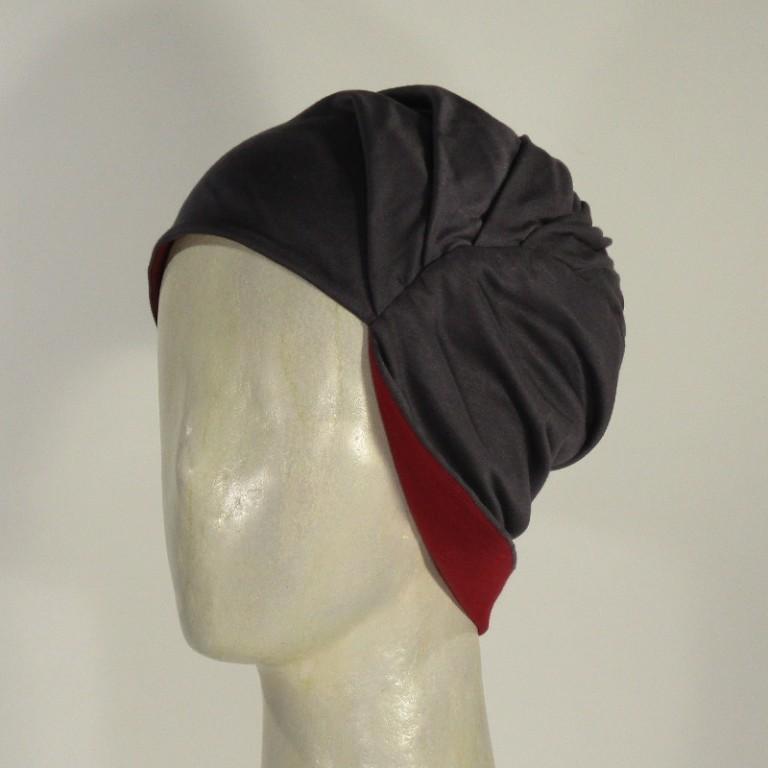 Kopfbedeckung - Haarlos - Viscose zum Wenden