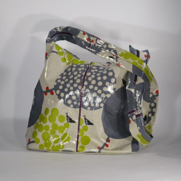Regenbekleidung - Tasche - Vögel