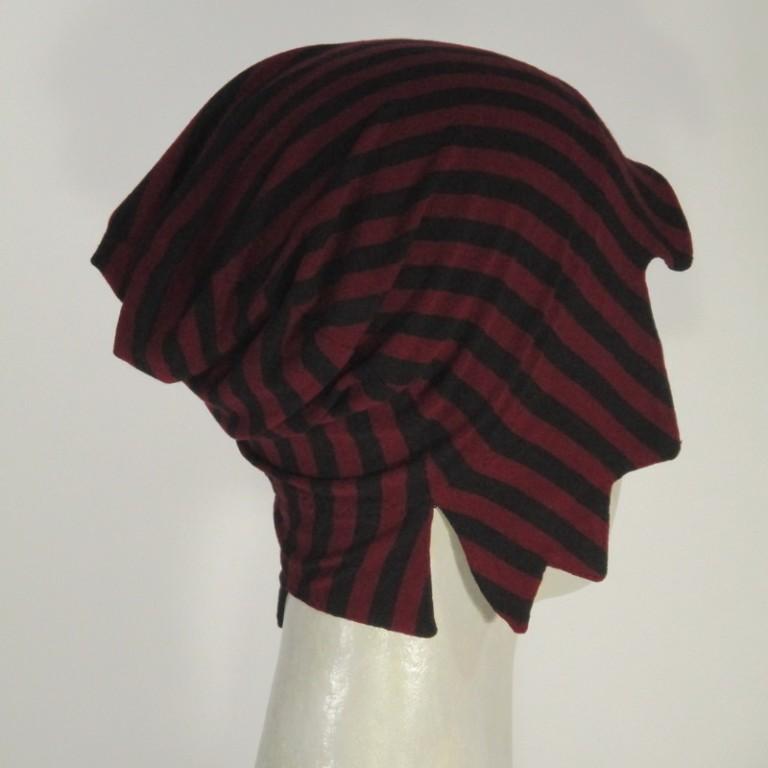 Alopeciakappe Kopfbedeckung - zweifarbig
