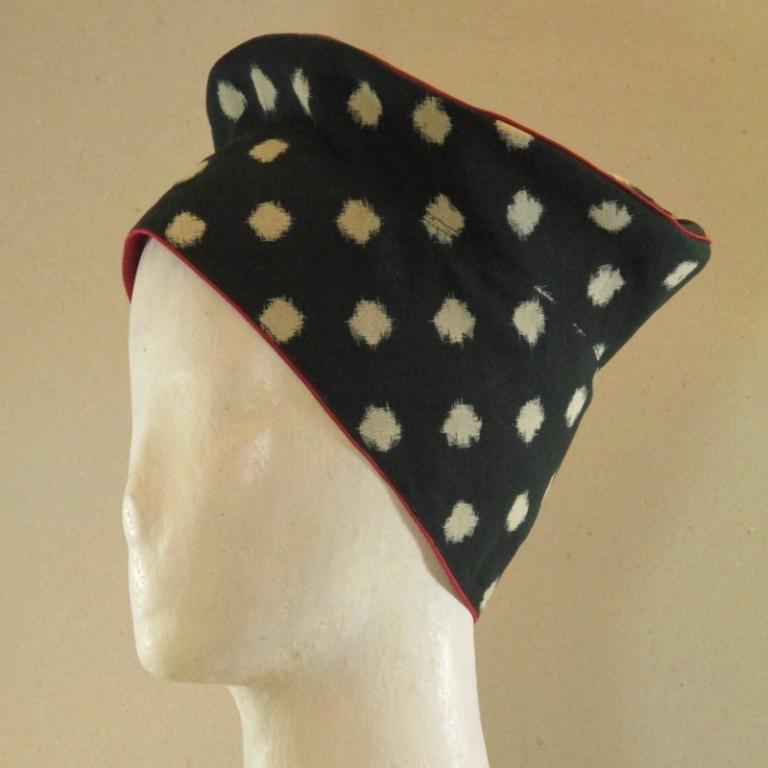 Kopfbedeckung - Hut japanisch - Doppelikat wertvolles Material
