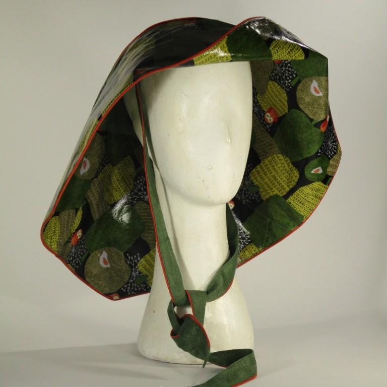 Kopfbedeckung - Regenhut - Eulen