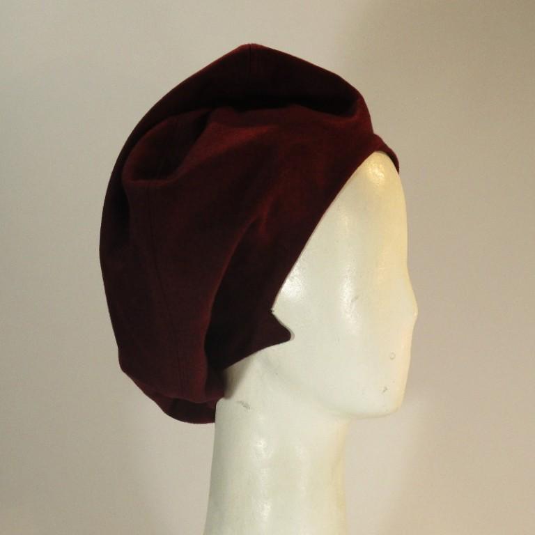 Kopfbedeckung - Wollbarett - gefüttert