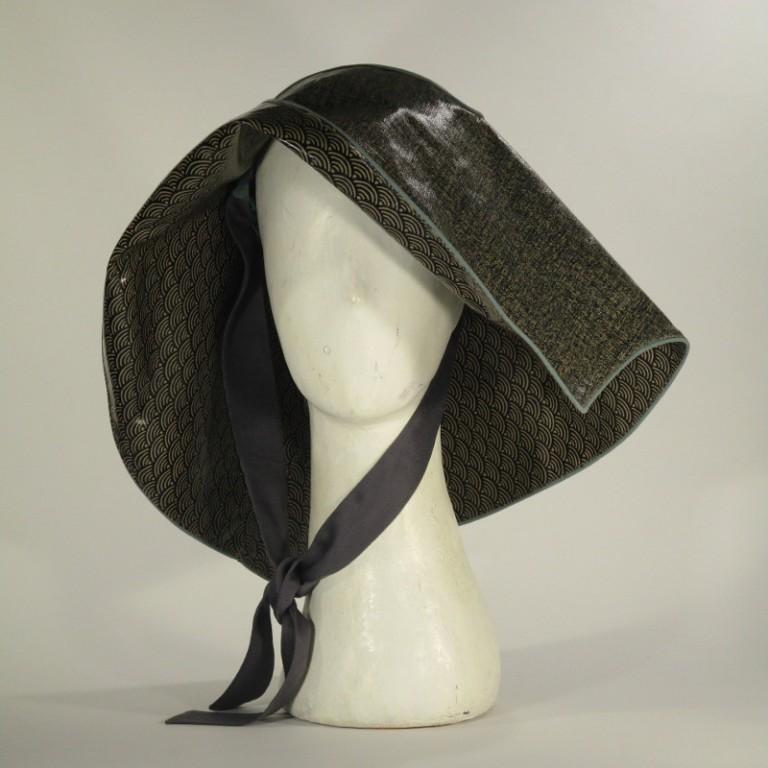 Kopfbedeckung - Regenhut Großform - klassisch japanisch
