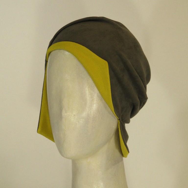 a7,kopfbedeckung,viscose,grau,gelb